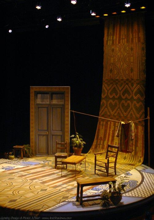 Act II set.