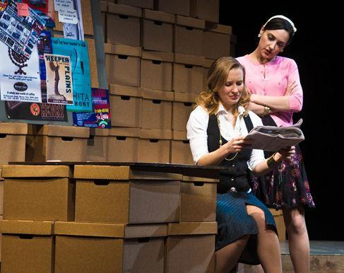 Georgina McKee as Andrea Munroe and Libby Amato as Jessica Shoemacher.