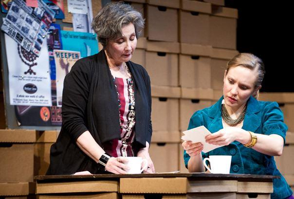 Sarah Day as Sally Quinn and Georgina McKee as Andrea Munroe.