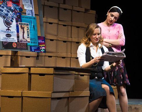 Georgina McKee as Andrea Munroe and Libby Amato as Jessica Shoemacher.